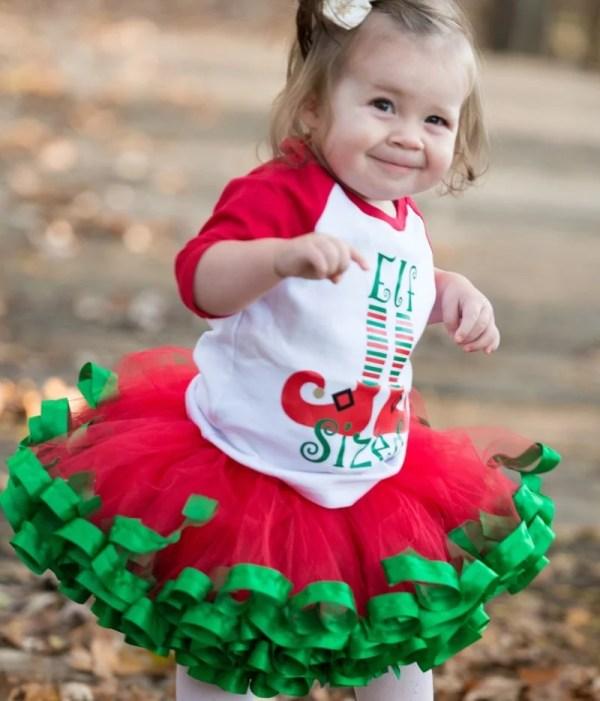 infant christmas tutu dress
