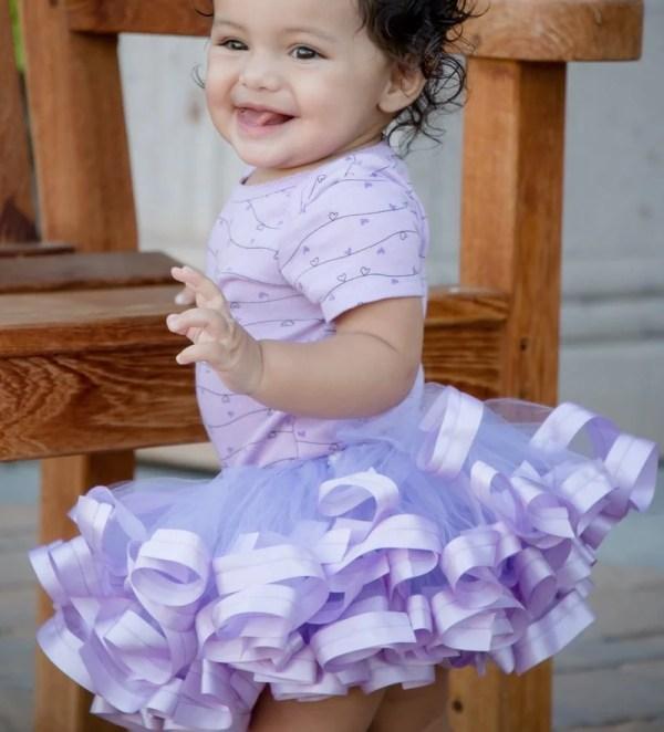 lavender tutu dress for baby girl