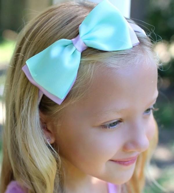 mermaid birthday headband