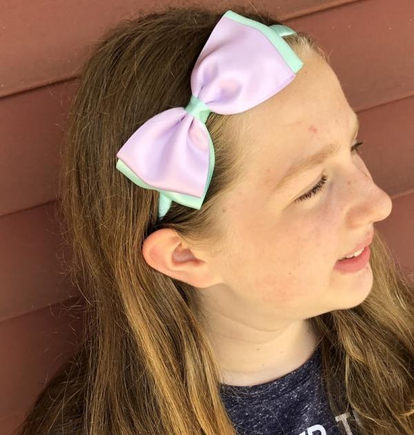 mermaid bow for toddler