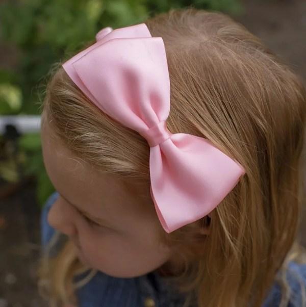 pastel pink headband