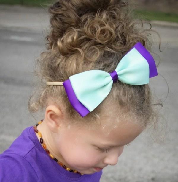 pretty headband bows