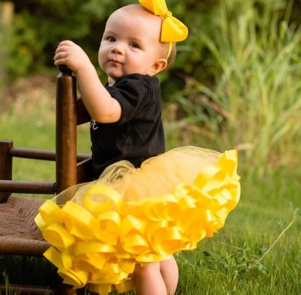 yellow tutu ballet
