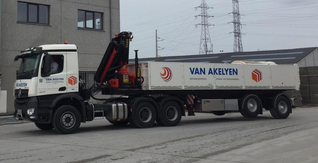 Van akelyen nieuwe laadwagen