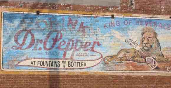 Dr. Pepper Sign - Van Alstyne,TX -