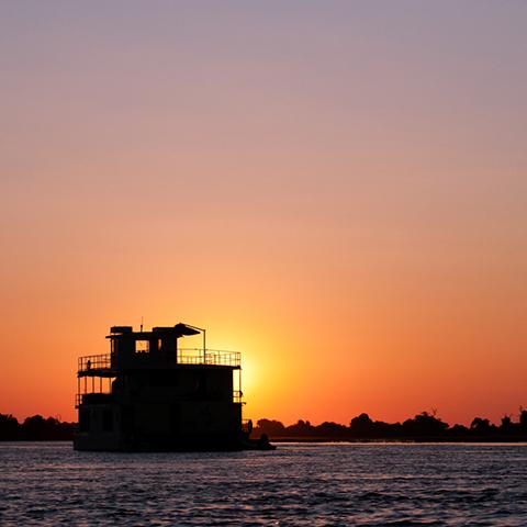 Botswana safari - Chobe Houseboat