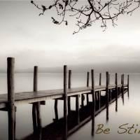 BE STILL......