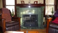 Van Briggle Vintage Fireplaces!!!