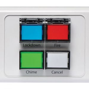 A2069 • Lockdown / Fire / Chime / Cancel Remote Wall Plate
