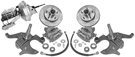 1967-72 GM A-BODY DROP SPINDLE DISC BRAKE KIT COMPLETE #17718