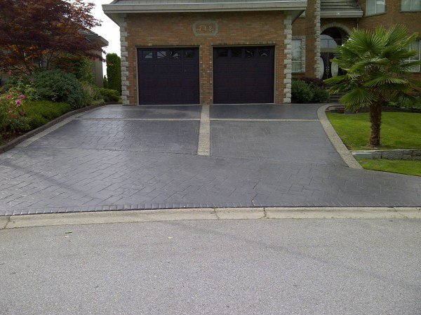 Stamped Concrete Driveway Ideas