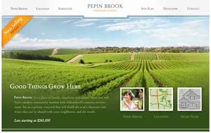 Pepin Brook Vineyard Estates Abbotsford real estate properties provides home sites and estate homesites for home purchasers in the Abby BC property market.