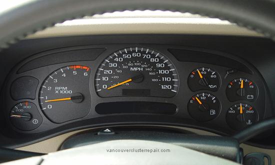 GMC Instrument Cluster Repair Speedometer Repair