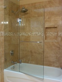 Shower Doors: Bathtub Shower Door