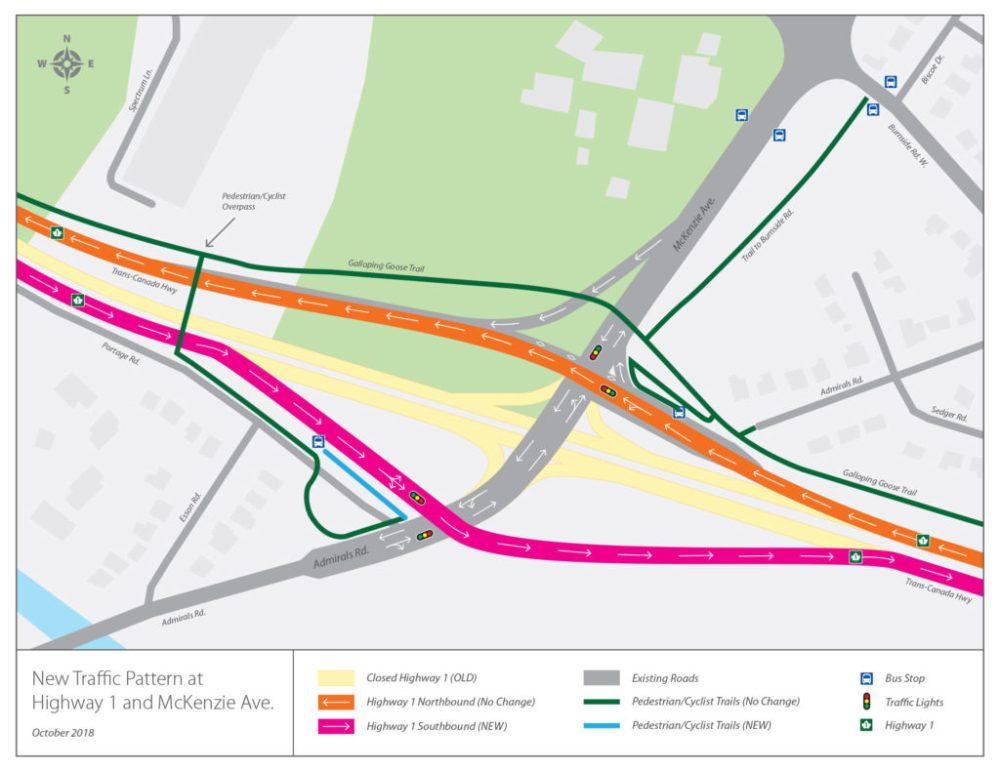 medium resolution of mckenzie interchange traffic signals adjusted again vancouver island free daily