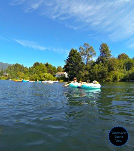 If you are looking for a family-friendly adventure in the Cowichan Valley on Vancouver Island then Cowichan River tubing is for you!
