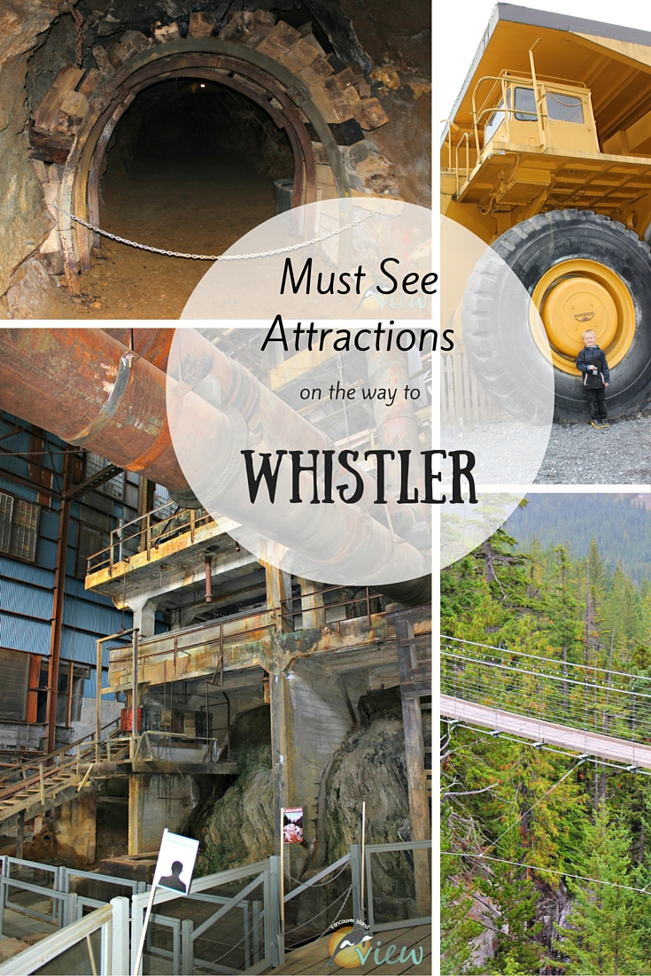Are you planning a trip to Whistler this year? Make sure to stop at these attractions along the way.