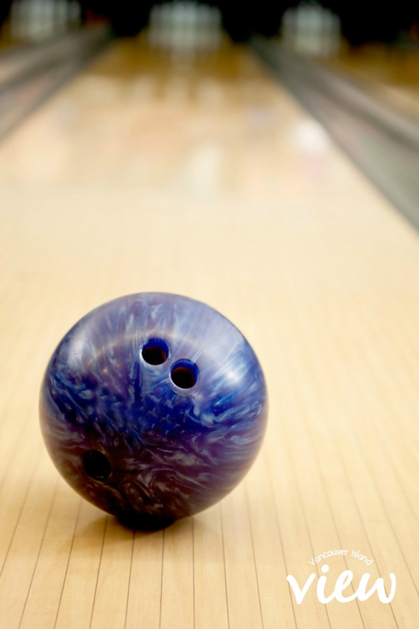 Bowling - great birthday party ideas for the kids in the central Vancouver Island area