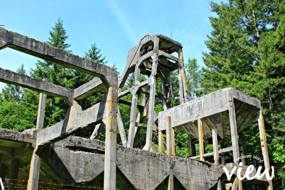 Morden Colliery mining artifacts - one of many hidden gems of Vancouver Island.