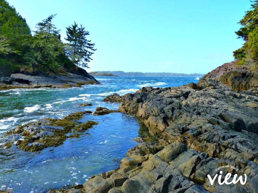 Mackenzie Beach in Tofino - one of the many things to see while on route from Nanaimo to Tofino.