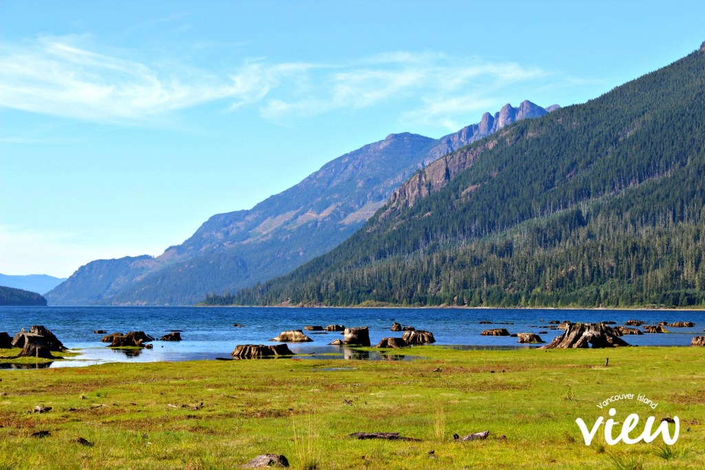 Buttle Lake - one of the places to explore in beautiful Strathcona Park on Vancouver Island.