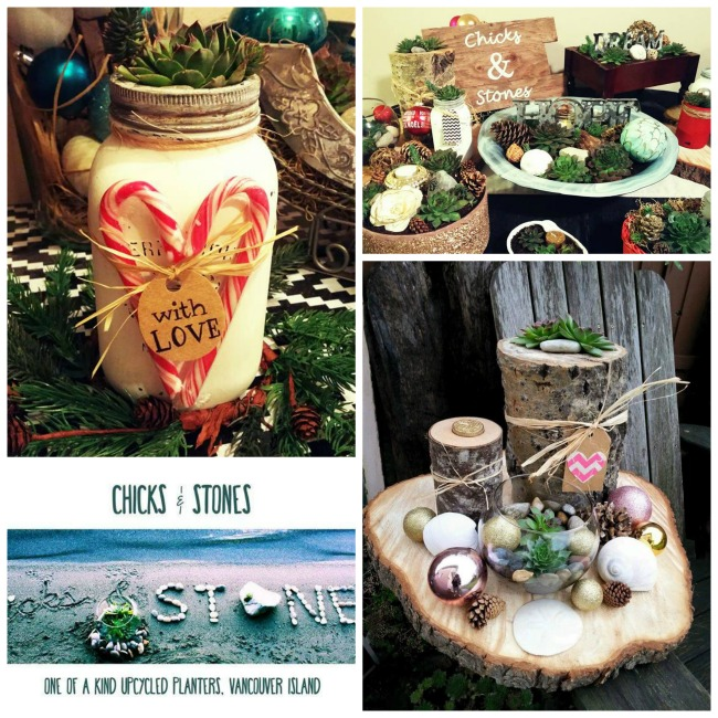 Chicks and Stones - one of the amazing local artisans featured in our Vancouver Island Gift Guide - Gift Ideas for Her