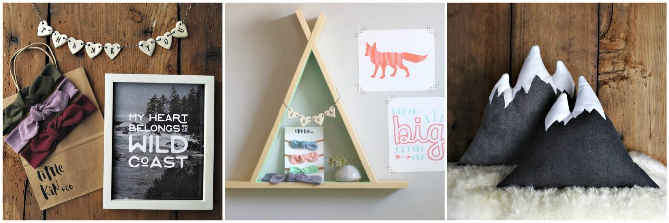 Little Kin and Co - one of the talented feature artists in our Vancouver Island Gift Guide. They are perfect for finding gifts for your little ones.