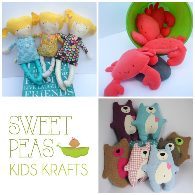 Sweet Peas Kids Krafts - one of the amazing local artisans featured in our Local Gift Ideas for Kids Vancouver Island Gift Guide