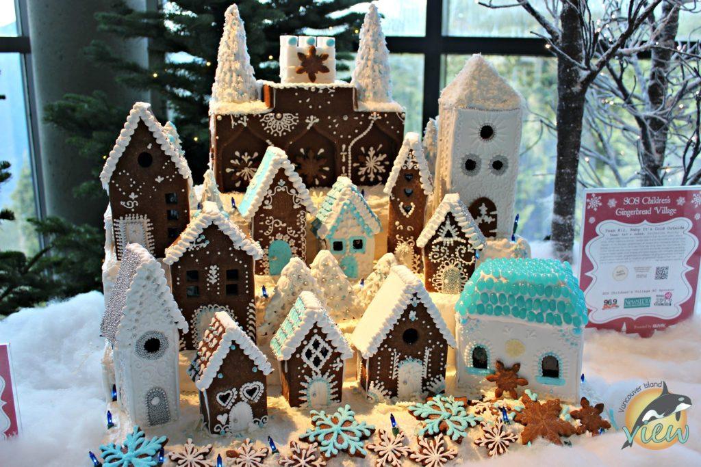Gingerbread Village at Peak of Christmas