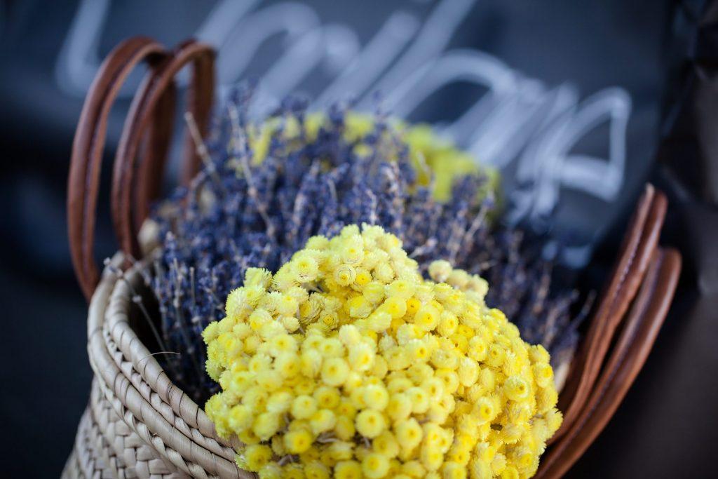 Fleurs de Villes event - combining fashion and flowers in Victoria.
