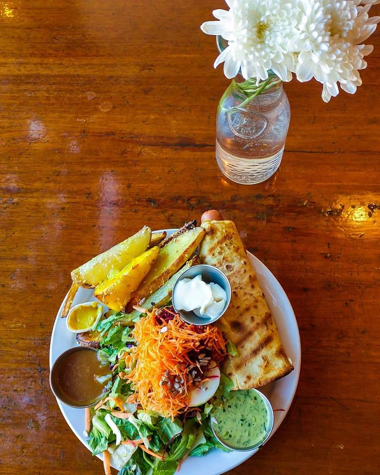 Cool Places In Vancouver To Eat: Where To Eat In Vancouver: Fresh And Healthy At The Naam