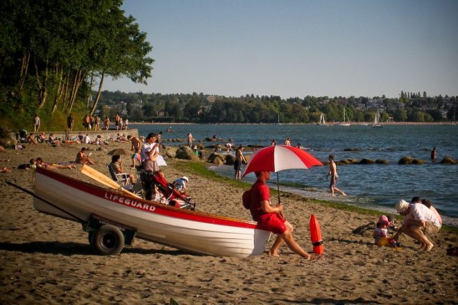 Vancouver beaches, English Bay