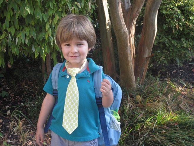 back to school boy