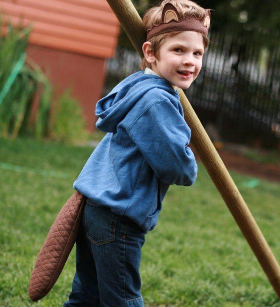 beaver costume kids