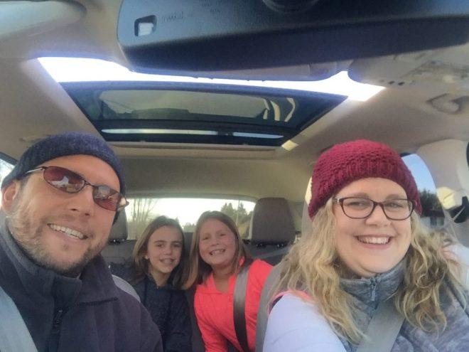 ford escape titanium 2017 family shot