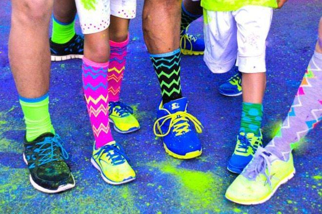 fall family runs - colour vibe