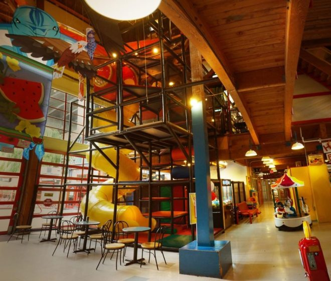 indoor playgrounds in and around Vancouver