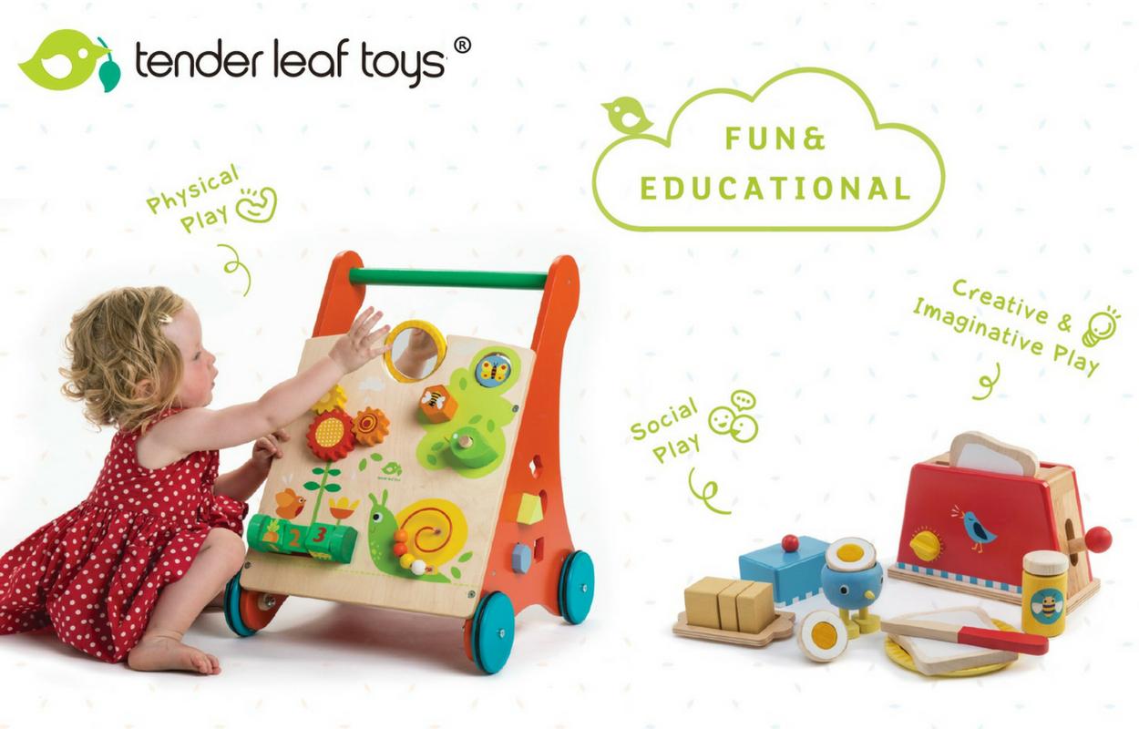 Wooden toys by Tender Leaf