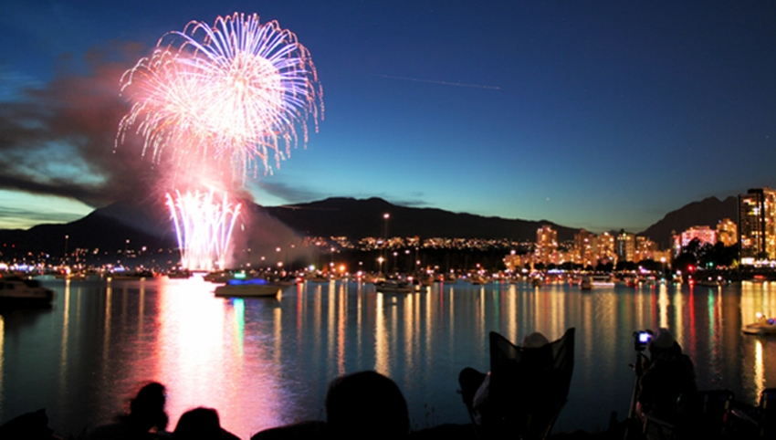 Celebration of Light Fireworks, English Bay, Vancouver