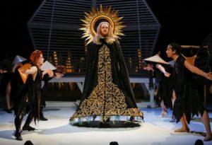 Thomas Elms as Dionysus. Photo by Tim Matheson.