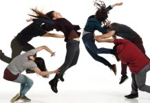 Shay Kuebler and his new dance company present Glory as part of the 2015 Chutzpah! Festival. Photo by David Cooper.
