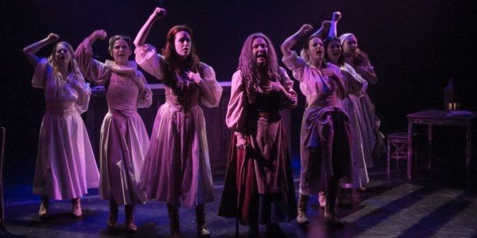 The cast of Miss Shakespeare. Photo: Bold Rezolution Studio
