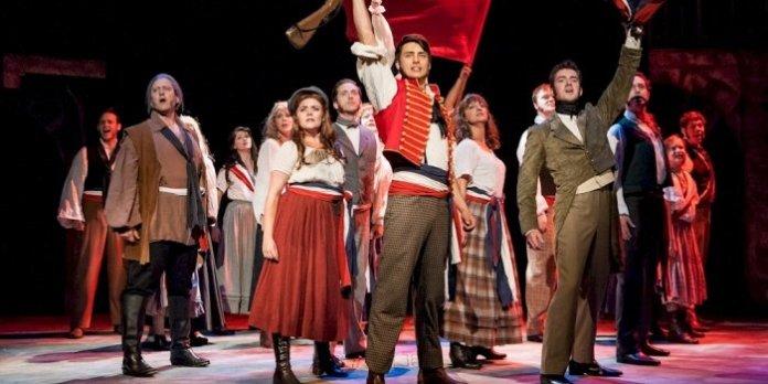 The cast of Les Misérables. Photo by Ross den Otter