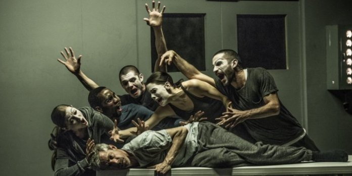 The cast of Betroffenheit. Photo: Wendy D Photography.