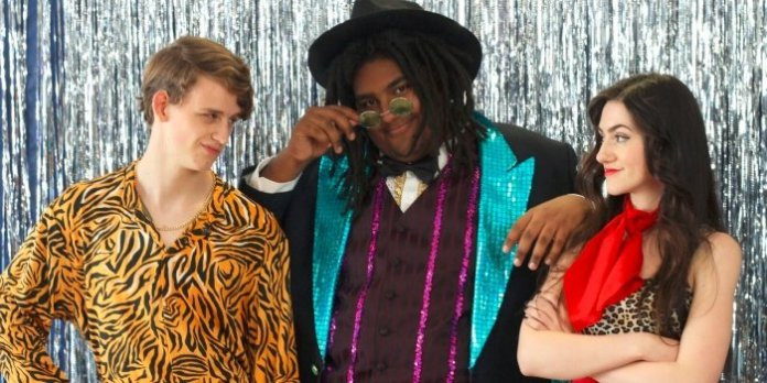 Much Ado About Nothing gets a makeover as Carousel Theatre's Teen Shakespeare production is set in the electric 1970s. Photo by Faye Campbell.