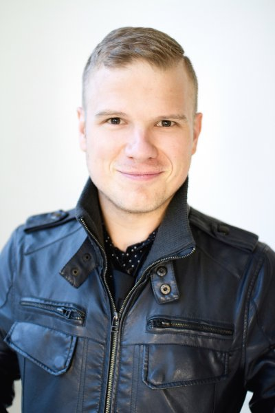 Playwright Dave Deveau received the Sydney Risk Prize for outstanding original play by an emerging playwright at the 2011 Jessie Awards for My Funny Valentine.