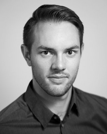 Baritone Daniel Thielmann plays the role of Pritchitch in The Merry Widow.