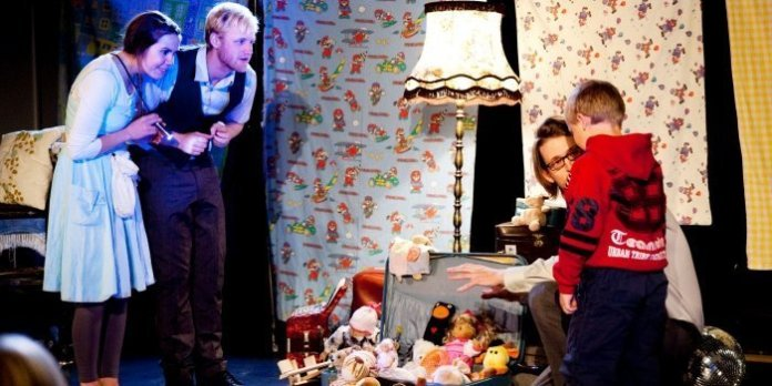 In The Toys Strike Back, Norway's Det Andre Teatret creates its improvised show from the toys brought to the performance.