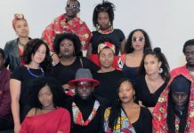 """""""Now more than ever, it is extremely critical and important to have positive spaces for people of African Descent to reimagine who they are, who they want to be and what impact they want to have within their local communities and the world."""" Photo: members of Afro Van Connect."""