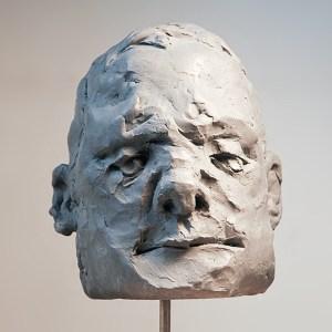 figurative clay sculpture